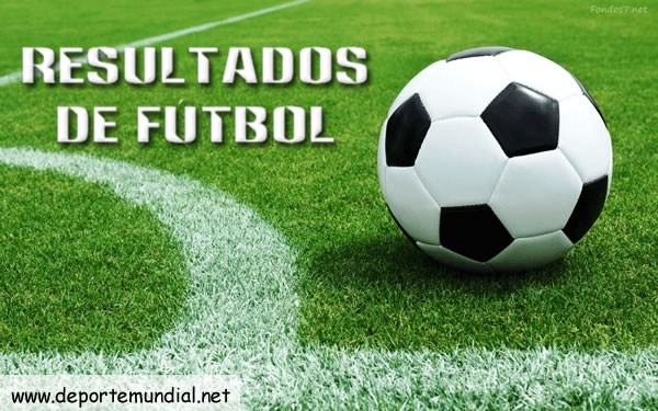 Resultados de Fútbol en vivo