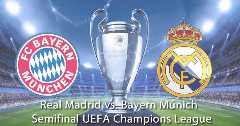 Real Madrid vs. Bayern Múnich en vivo