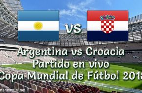 Vídeo Repetición: Argentina vs Croacia 0-3 Resumen y Goles de Copa Mundial Rusia 2018