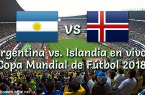 Argentina vs Islandia en vivo Copa Mundial Rusia 2018