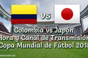 Colombia vs Japón Hora y Tv en VIVO Copa Mundial Rusia 2018 este Martes 19 de Junio 2018