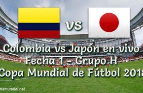 Resultado Colombia vs Japón 1-2 Goles del Partido Copa Mundial de Rusia 2018