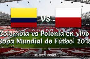 Marcador Final Colombia vs Polonia 3-0 Goles y Resumen del Partido Copa Mundial Rusia 2018