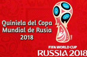 Descargar Quiniela del Copa Mundial de Rusia 2018 Excel