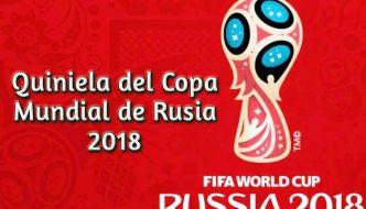 Descargar Quiniela Copa Mundial de Rusia 2018