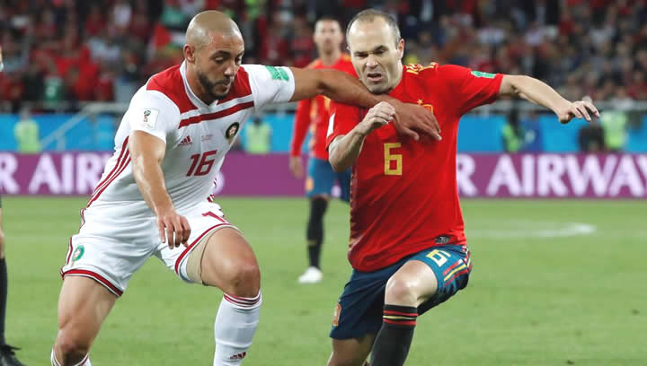 España vs Marruecos Copa Mundial Rusia 2018