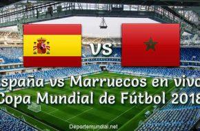 España vs Marruecos en vivo Copa Mundial Rusia 2018