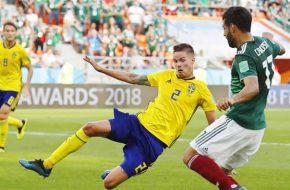 México vs Suecia Copa Mundial Rusia 2018
