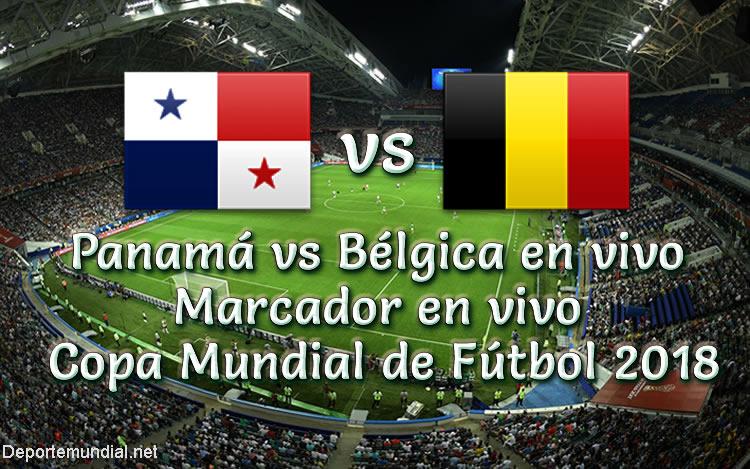 Panamá vs Bélgica en vivo copa mundial rusia 2018