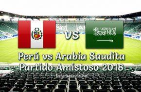 Perú vs Arabia Saudita en vivo