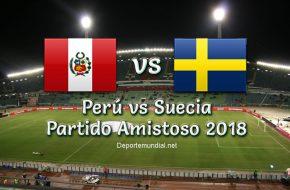 Resultado Perú vs Suecia 0-0 Partido Amistoso 2018 Previo a Copa Mundial Rusia 2018