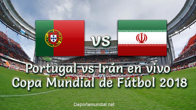 Portugal vs Irán en vivo Copa Mundial Rusia 2018