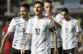 Partidos de Argentina en Copa Mundial 2018