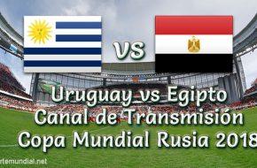 Uruguay vs Egipto Transmisión en vivo