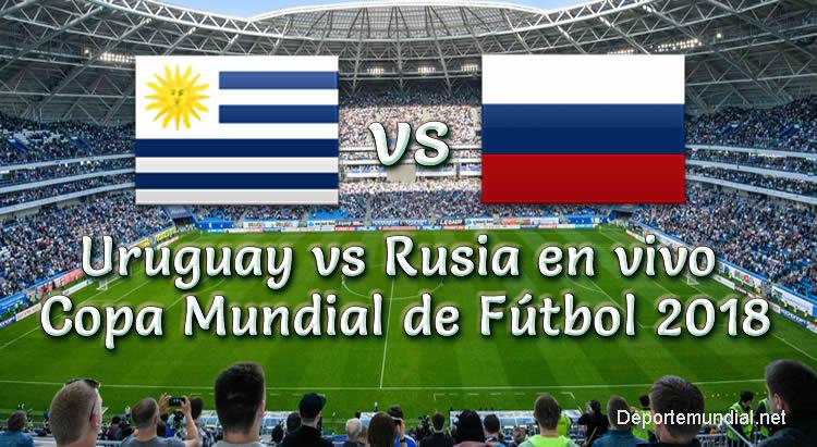 Uruguay vs Rusia en vivo Copa Mundial Rusia 2018