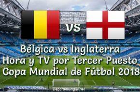 Bélgica vs Inglaterra: Hora y Tv en VIVO Tercer Puesto Copa Mundial Rusia 2018 este Sábado 14 Julio 2018