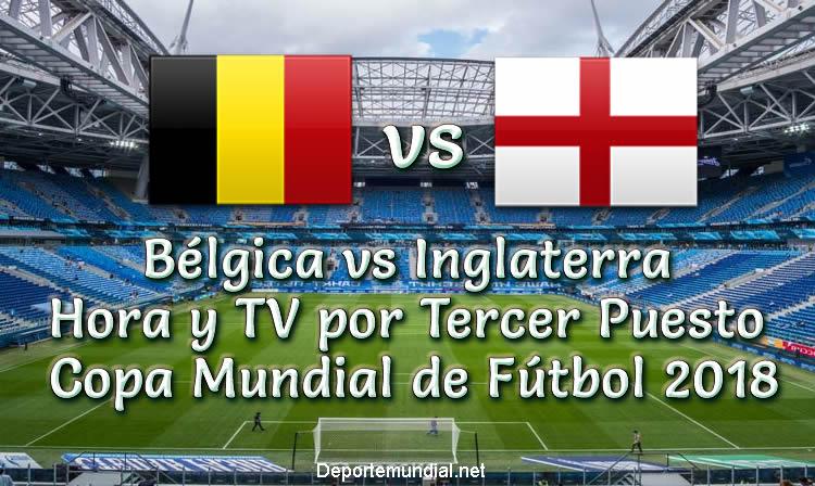 Bélgica vs Inglaterra Hora y Tv Tercer Puesto Copa Mundial 2018