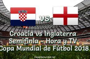 Croacia vs Inglaterra: Hora y Tv en VIVO Semifinal Copa Mundial Rusia 2018 este 11 de Julio 2018