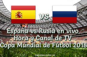 España vs Rusia: Hora y TV en VIVO Octavos de Final Copa Mundial 2018 Este Domingo 01 de Julio 2018