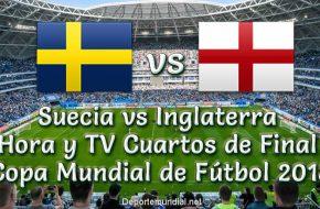 Suecia vs Inglaterra: Hora y TV en vivo Cuartos de Final Copa Mundial 2018 este Sábado 07 Julio 2018