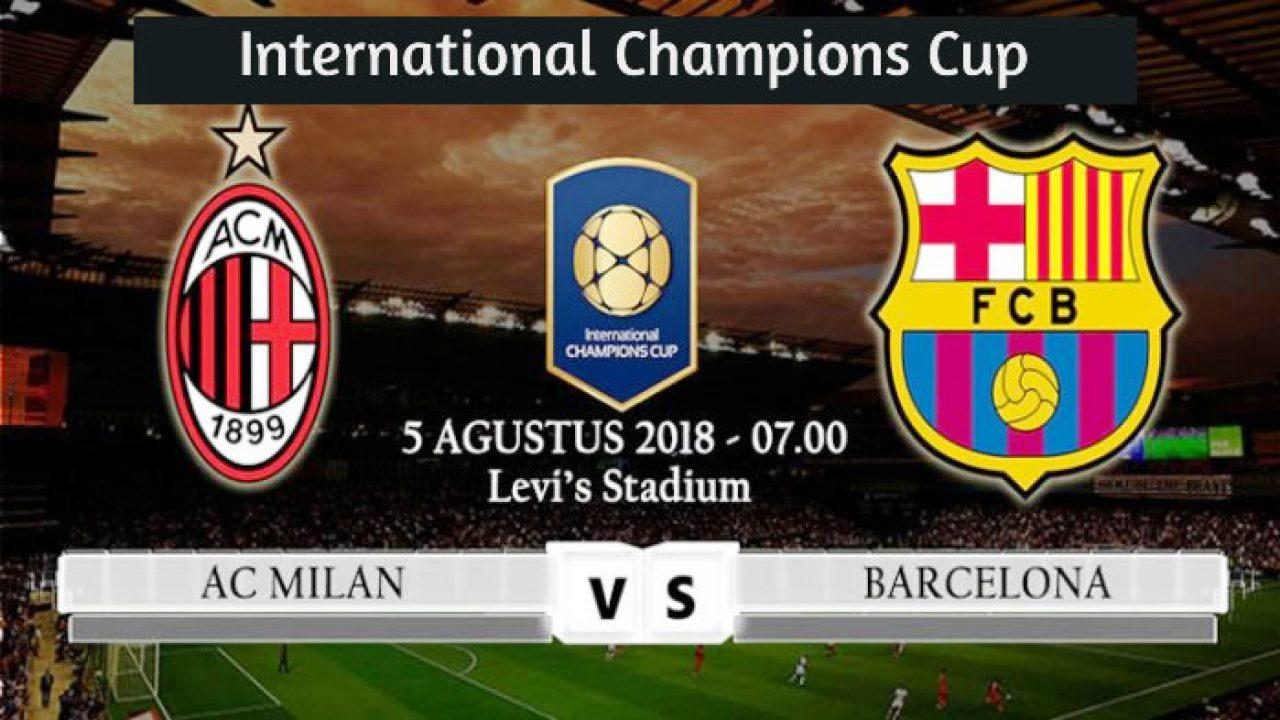 Resultado Barcelona Vs Ac Milan 1 0 Goles De International Champions Cup Este Sabado 4 De Agosto 2018 Deporte Mundial En Vivo
