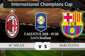 Resultado Barcelona vs AC Milan 1-0 Goles de International Champions Cup Este Sábado 4 de Agosto 2018