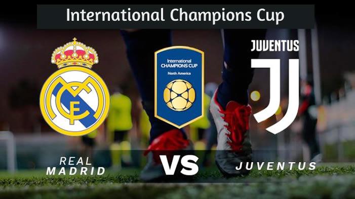 Real Madrid vs Juventus en VIVO