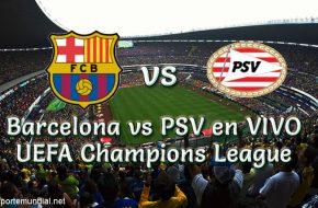 Barcelona vs PSV en VIVO UEFA Champions League 2018-19