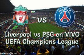 Liverpool vs PSG en VIVO Champions League 2018-19