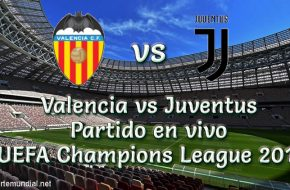 Valencia vs Juventus en vivo Champions League 2018