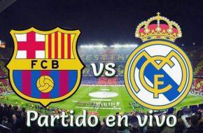 Barcelona vs Real Madrid en vivo Fútbol español 2018-19