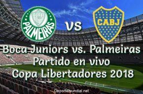 Boca Juniors vs. Palmeiras en VIVO Semifinales Copa Libertadores 2018