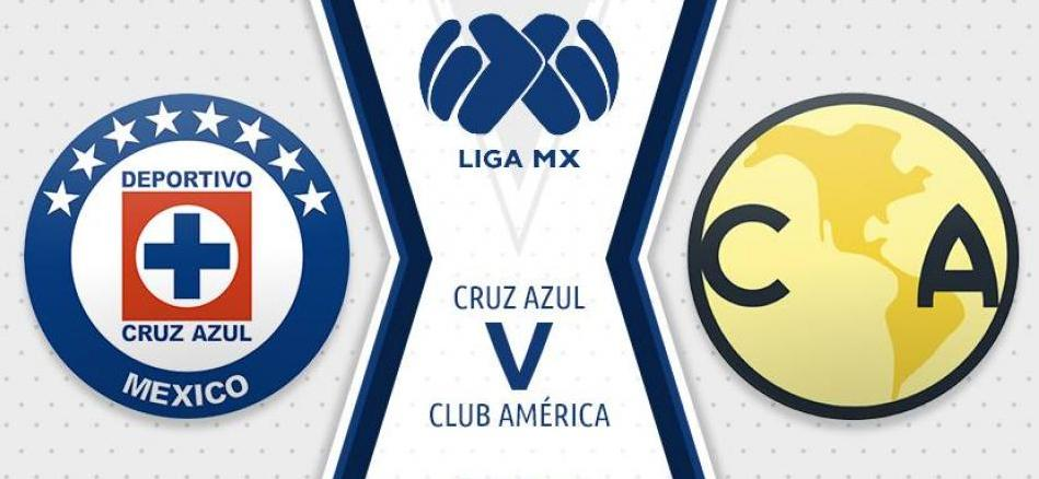 Cruz Azul vs América en VIVO Liga MX 2018