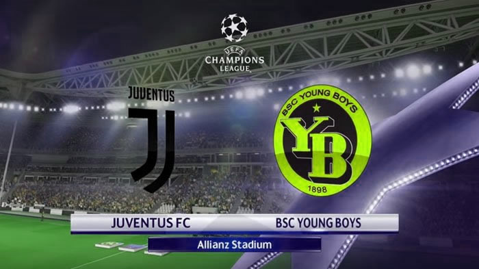 Juventus vs Young Boys en vivo UEFA Champions League 2018-19