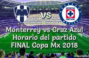 Monterrey vs Cruz Azul Final Copa MX 2018