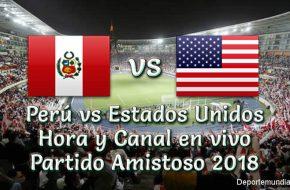 Estados Unidos vs Perú: Hora y Canal en VIVO Amistoso 2018 – Martes 16 Octubre 2018