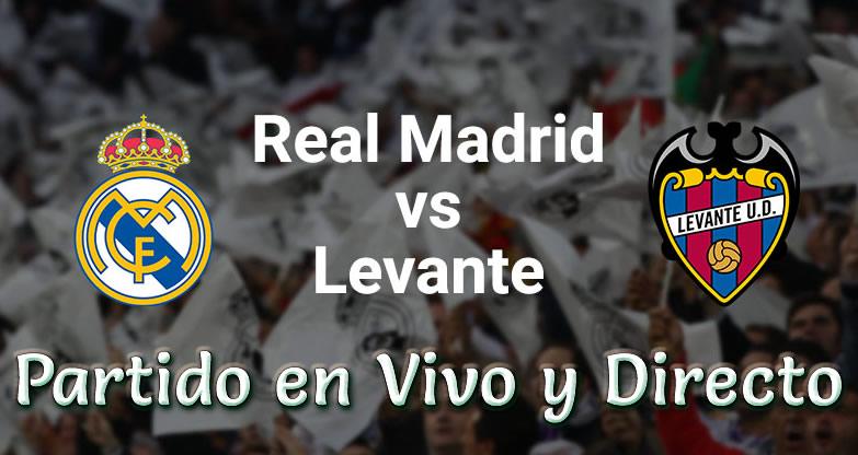 Real Madrid vs Levante en vivo Liga Española 2018-19