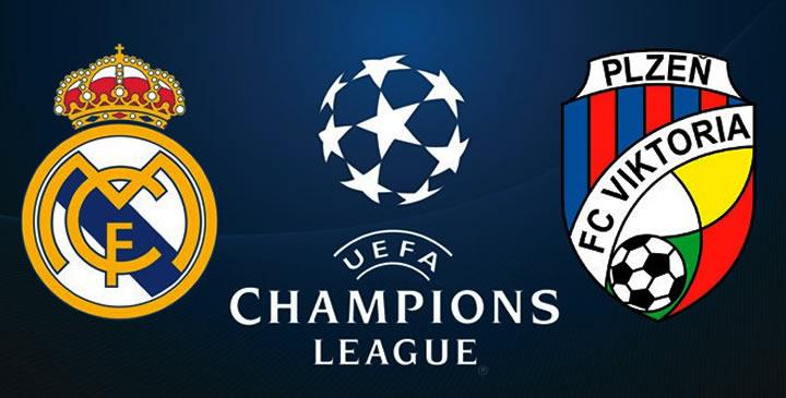 Real Madrid vs Plzen en vivo Champions League 2018-19