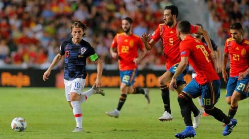 Croacia vs España en VIVO Copa Liga de Naciones 2018