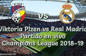 Plzen vs Real Madrid en VIVO UEFA Champions League 2018-19