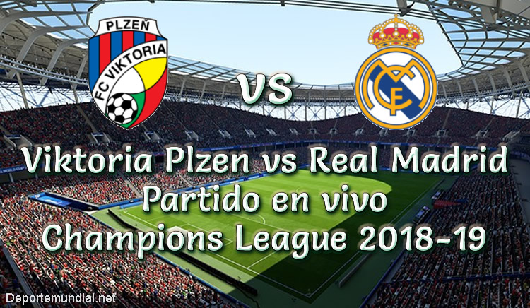 Plzen vs Real Madrid en VIVO UEFA Champions League 2018-19