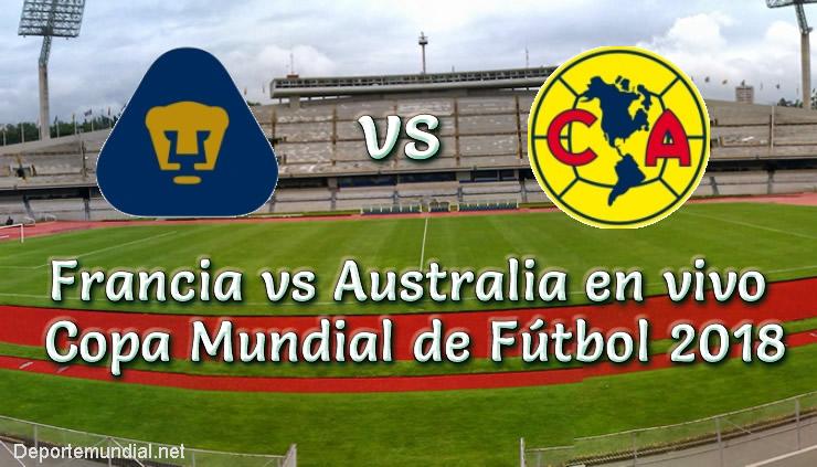 Pumas UNAM vs América en VIVO IDA Semifinal Torneo Apertura 2018