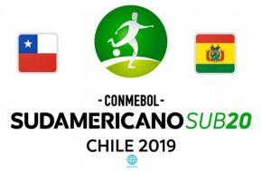 Chile vs Bolivia Sudamericano Sub-20