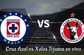 Cruz Azul vs Xolos Tijuana en vivo Clausura 2019