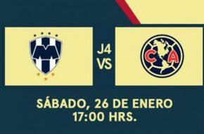 Monterrey vs América en VIVO Torneo Clausura 2019