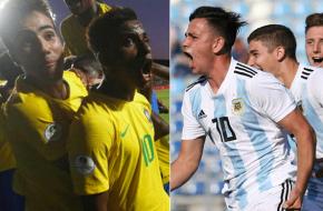 Brasil vs Argentina en VIVO y Directo