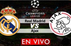 Real Madrid vs Ajax en vivo Champions League