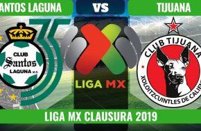 Santos Laguna vs Tijuana en VIVO y Directo