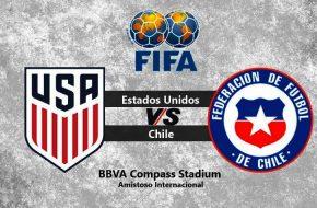 Estados Unidos vs Chile en vivo