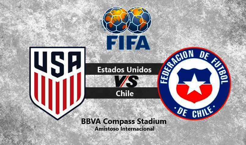 Estados Unidos vs Chile en vivo